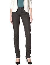 *NWT* Stitch's Womens Black Fox Raw Skinny Jeans SIZE 27