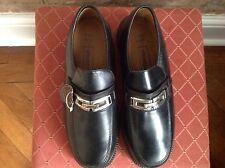 Scarpe da Shoebox, tomaia in cuoio, nero, taglia 6 / 40