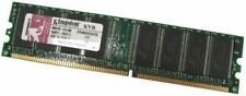 2 x RAM Memoire 256MB Kingston KVR400X64C3A/256 PC3200U 400MHz Non-ECC