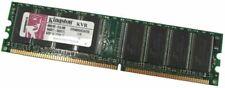 Lot de 2 RAM Memoire 256MB Kingston KVR400X64C3A/256 PC3200U 400MHz Non-ECC