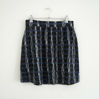 HOF115: & Other Stories Rock mini muster / Psychedelic print skirt 36 UK 10