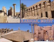 Egypt - KARNAK - Travel Souvenir Fridge Magnet