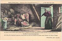 01 - cpa - ARS - Le Curé d'Ars - Peinture de la chapelle