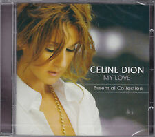 CD 17T CELINE DION MY LOVE ESSENTIAL COLLECTION BEST OF 2008 NEUF SCELLE