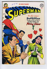 Superman #67 DC 1950 Perry Como cover/story