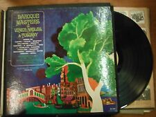 33 RPM Vinyl Baroque Masters of Venice Naples & Tuscany Nonesuch Record 032615SM