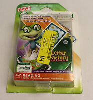"""39305 LEAPFROG IMAGICARD LETTER FACTORY 4-7 AGE READING LEARNING GAME """"GRADE A"""""""