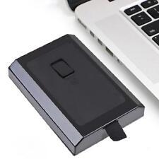 High-speed Hard Disk Drive HDD HD Case Box for Microsoft XBOX 360 250GB Black t