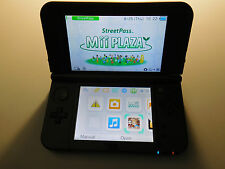 Nintendo New 3DS XL Black Handheld System Console (All Works)