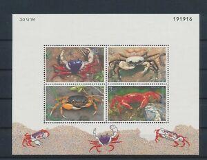 LO41506 Thailand crabs crustaceans sealife good sheet MNH