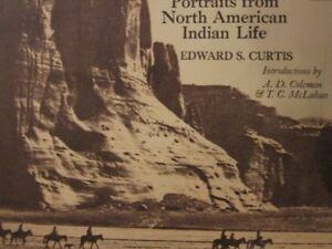 Portraits from North American Indian Life by Edward S. Curtis (1972, Book,...