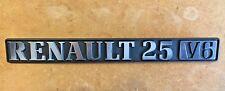 Renault 25 V6 Monogramme NEUF