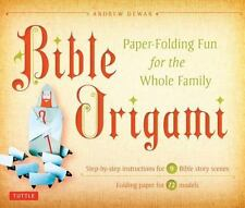 """Bible Origami"" Paper-Folding Fun for the Whole Family, NIB"