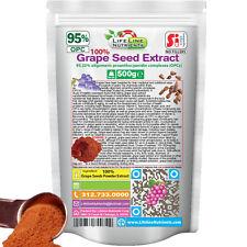 500g (1.1 lb) 100% Grape Seed Powder Extract - 95% OPC