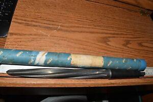 "13/16"" Chicago Latrobe 340 HS Steel Construction Reamer  Taper Shank 5 Flutes"