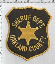 Oakland County Sheriff (Michigan) 4th Issue Uniform Take-Off Shoulder Patch