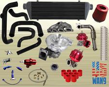 Honda Civic Complete Turbo Kits D Series EX/Si 1.6L SOHC VTEC I-4 455HP D16Z6 BK