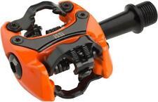 iSSi Flash II Pedals - Dual Sided Clipless Aluminum 9/16 Orange