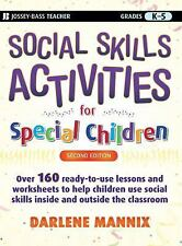Social Skills Activities for Special Children-ExLibrary