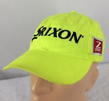 Srixon Z Star Hat Adjustable Neon Yellow Golf Tour Cap