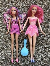 Blue Fairy Tulle Skirt Mariposa Butterfly Skipper Pink Shiny Barbie Doll