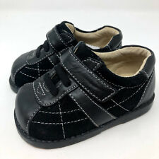 New See Kai Run Boys Toddler 4 Black Dress Casual Shoes