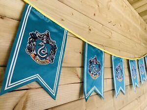 HARRY POTTER SLYTHERIN Bunting Party Event Hogwarts Celebration Polyester 4m💙