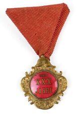 Feuerwehr Ehrenzeichen XXX. Jahre #37701