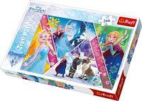Trefl 260 Pièce Enfants Grand Disney la Reine des Neiges Magie Memories Anna
