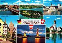 Grüsse vom Bodensee , Ansichtskarte 1976 gelaufen