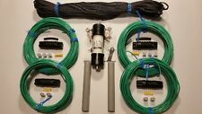 160/80 meter fan multiband antenna dipole HF W2AU Unadilla 1:1 BALUN W 200' ROPE
