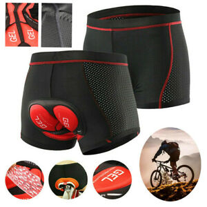 Radunterhose Herren Damen Fahrradhose 5D Gel Sitzpolster Kurze Hosen MTB Radhose
