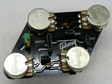 Gibson Les Paul STUDIO, Pot Control Board  CTS Quick Connect 2 PIN TO PICKUPS