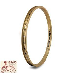 "ALIENATION MALICE  36H---20"" GOLD BICYCLE RIM"