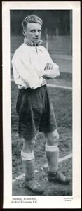 Trade Card, Topical Times, FOOTBALLERS,1934,250 x 95,Ronnie Starling,Sheffield W