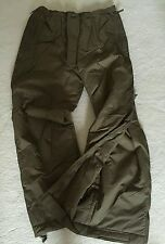 British Army issue thermal trousers PCS MTP Intergal Stuff Bag sz M New