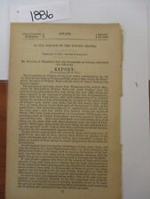Government Report Civil War 1861 Relief for Pilot Boats Seized  #1886