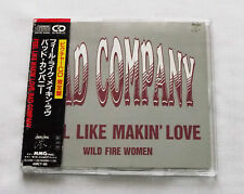 BAD COMPANY Feel like makin' love JAPAN only 2 tks CD+Obi SWAN SONG(1990)ex-FREE