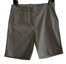 AQUASCUTUM Womens Khaki Beige GOLF OUTDOOR Shorts 6 US