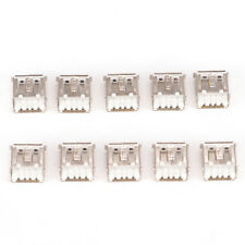 10 x USB Female Type A 4-Pin DIP Right Angle Plug Jack Socket Connector  fn