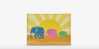 Yoshi Elephant Academy Card Pass Holder Wallet
