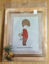 """VOGART Creative Stitchery Kit Moppets """"Be Nice To Me"""" 70s For Child's Room NEW"""