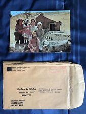 Little House On The Prairie Photo With Original NBC Envelope