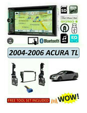 NEW 2004-2006 ACURA TL Car Stereo Kit, BLUETOOTH TOUCHSCREEN DVD GPS