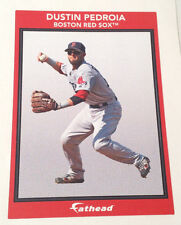 """Dustin Pedroia Red Sox FATHEAD Small Ad Panel Poster 6"""" x 4"""" MLB Graphics Decal"""