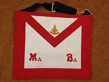 Franc-maçonnerie tablier passé Maître REAA - Masonic apron