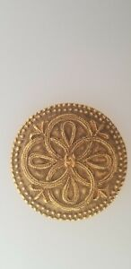 LADIES CHANEL #1187 GOLD PLATED BROOCH