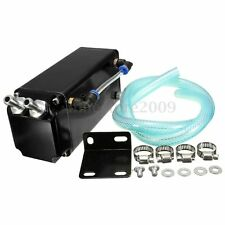 Racing Engine Oil Catch Tank Can Reservoir + Hose Set For VW GOLF LUPO POLO GTI