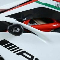 R&G RACING Aero no-cut Frame Sliders, MV Agusta F4RC 2015- BLACK