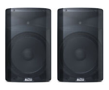 (2) ALTO PRO TX215 - 600-WATT 15-INCH 2-WAY POWERED LOUDSPEAKERS / Auth Dealer